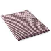 Striped Bath Towel - Lavender/Graphite