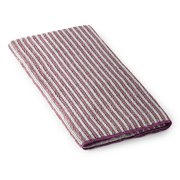 Striped Hand Towel - Lavender/Graphite
